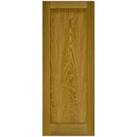 Doras  Contract 1 Panel Oak Door - 44mm