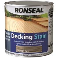 Ronseal  Decking Stain - 2.5 Litre