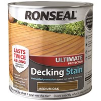 Ronseal  Ultimate Protection Decking Stain - 2.5 Litre
