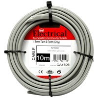 Best Electrical  Twin & Earth Grey Wiring Cable - 1.5mm