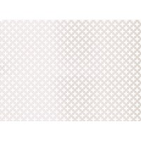 Applications  Screening Panel Four Leaf Clover Pattern - White