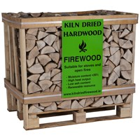 Kiln Dried Ash Log Crate - 400KG