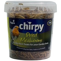 Chirpy  Dried Mealworms - 100g