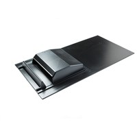 Tegral  TV1 Economy Roof Vent - Grey