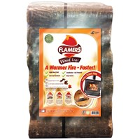 Flamers  6 Smokeless Wood Logs - 10kg