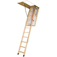 Fakro  LTK Thermo 3 Section Folding Attic Ladder - 2.8m
