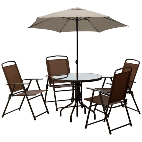 Courtyard  Bradley 6 Piece Patio Furniture Set